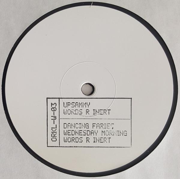 Upsammy - Words R Inert (Back)