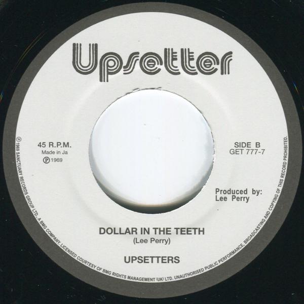 Upsetters - Return Of Django / Dollar In The Teeth (Back)