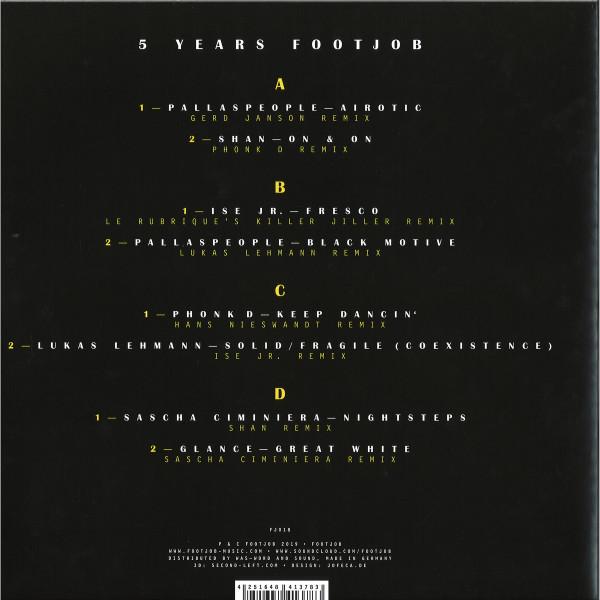 "V/A - 5 Years Footjob (2x12"") (Back)"
