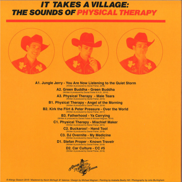 V/A - It Takes A Village: The Sounds Of Physical Therapy (Back)
