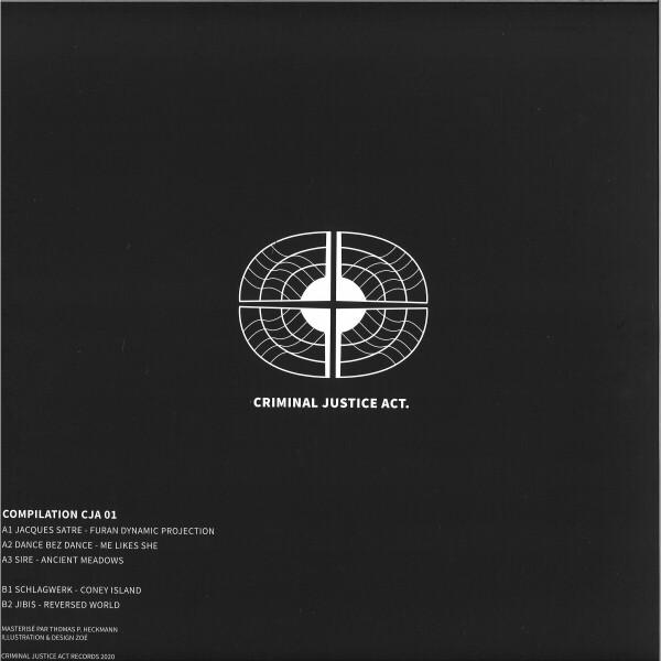 VARIOUS ARTISTS - COMPILATION CJA 01 EP (Back)