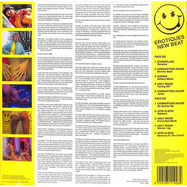VARIOUS ARTISTS - Erotiques New Beat (Back)