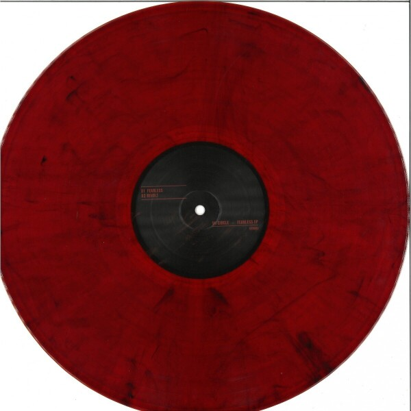 VII Circle - Fearless EP [full colour sleeve / dark red marbled