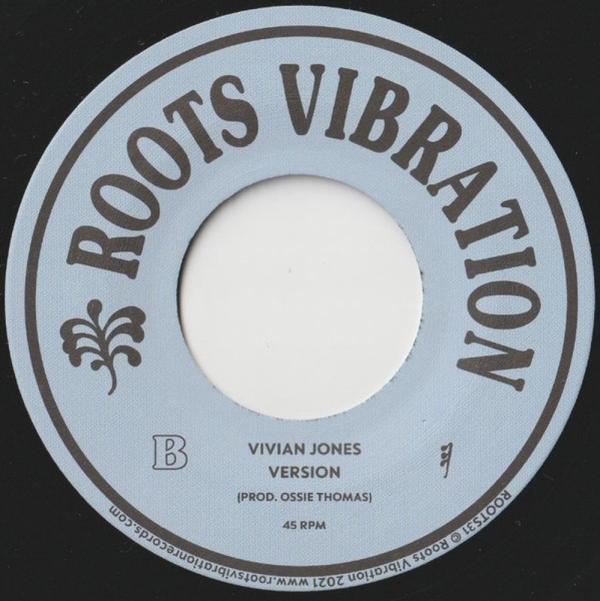 VIVIAN JONES - INSTITUTIONALIZED RACISM (Back)