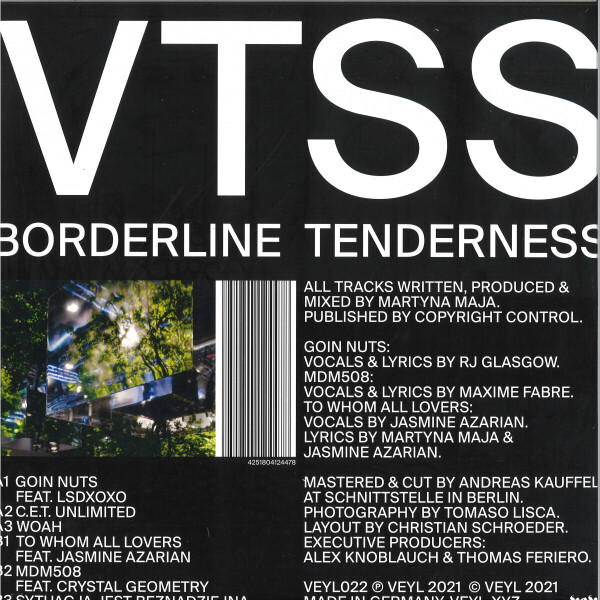 VTSS - Borderline Tenderness (Back)