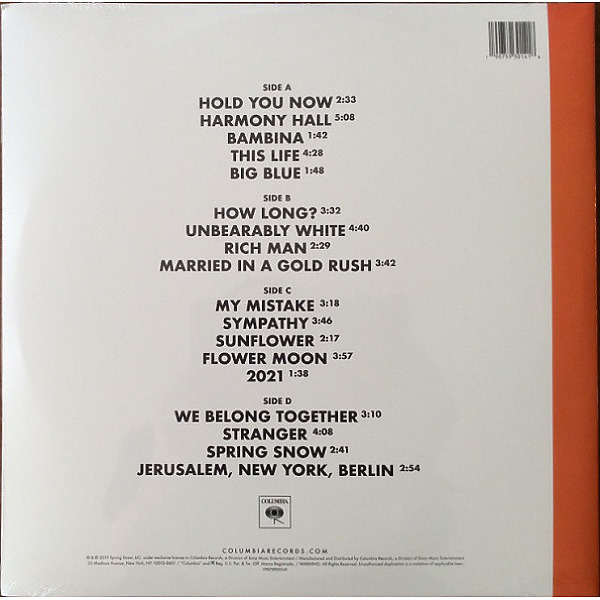 Vampire Weekend - Father Of The Bride (2LP) (Back)