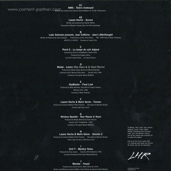 Various / Lazare Hoche - Access (180 Gram Vinyl 5xlp Box) (Back)