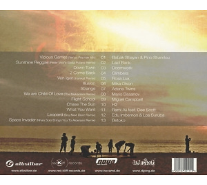 Various Artists / DJ Ping - City Beach Club 8 (Back)