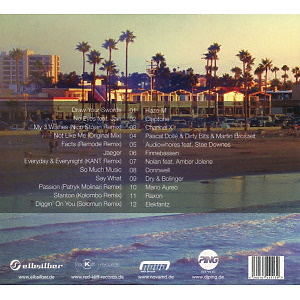 Various Artists / DJ Ping - City Beach Club 9 (Back)