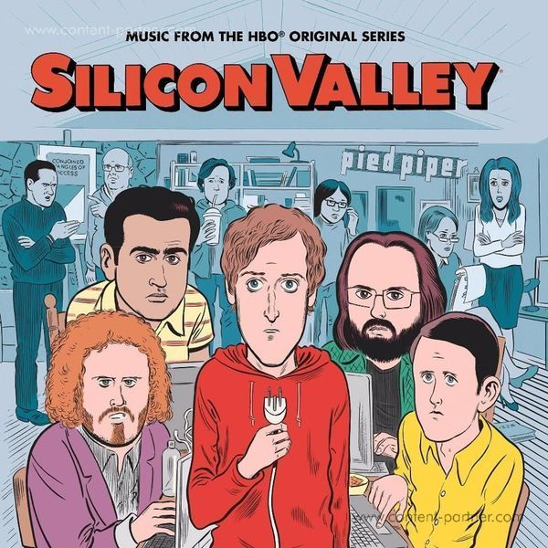 Various Artists / OST - Silicon Valley: The Soundtrack (Ltd. Coloured LP)