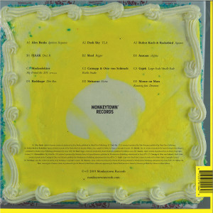 Various Artists - 10 Years of Monkeytown (2LP) (Back)
