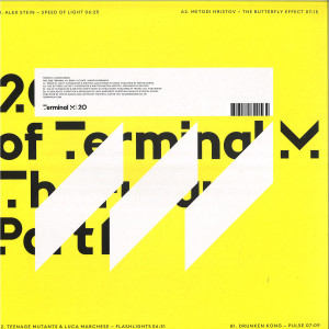 Various Artists - 20 Years of Terminal - The Future Part 1 (Back)