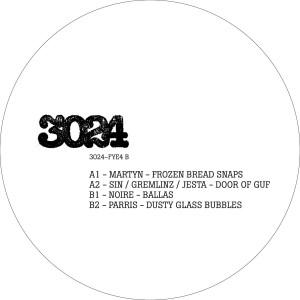 Various Artists - 3024-FYE4 (Back)