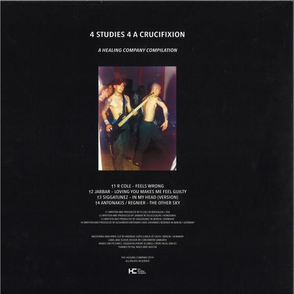 Various Artists - 4 Studies 4 A Crucifixion (Back)