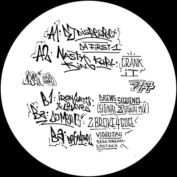 Various Artists - A.C.A.B. (Part 3) [graffiti tagged sleeve / ltd. (Back)