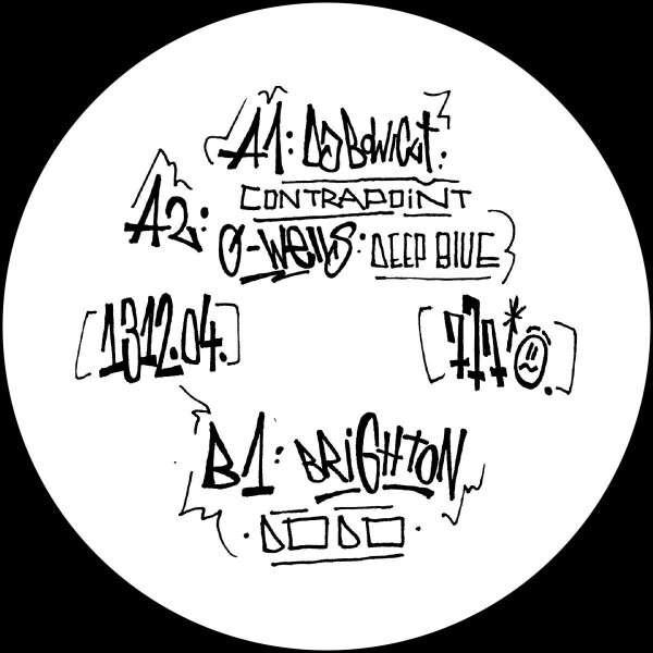 Various Artists - A.C.A.B. (Part 4) [graffiti tagged sleeve / ltd. (Back)