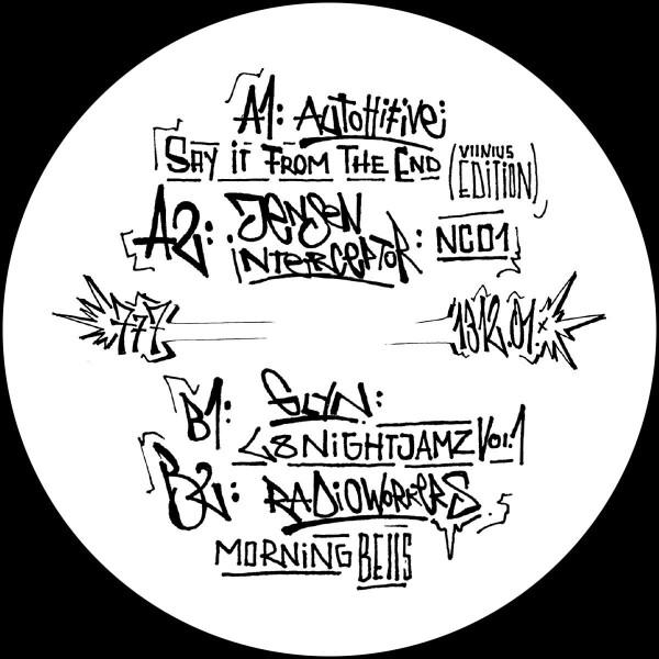 Various Artists - A.C.A.B. (Part One) [graffiti tagged sleeve / ltd. (Back)