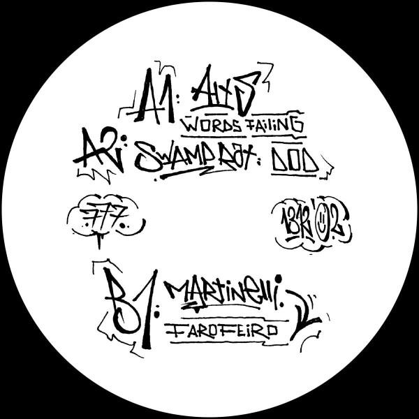 Various Artists - A.C.A.B. (Part Two) [graffiti tagged sleeve / ltd. (Back)