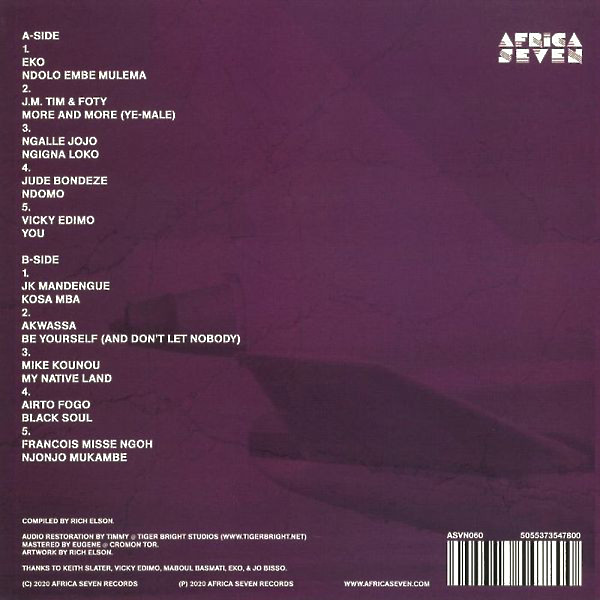 Various Artists - Africa Airways Six (Mile High Funk 1974 - 1981) (Back)