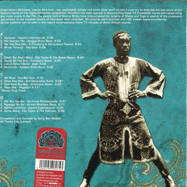 Various Artists - Afro-Beat Airways (Ltd. 2LP Repress) (Back)