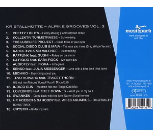 Various Artists - Alpine Grooves Vol. 3 (Kristallh�tte) (Back)