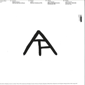 Various Artists - Ancient Future Now Remixes 3 (Back)