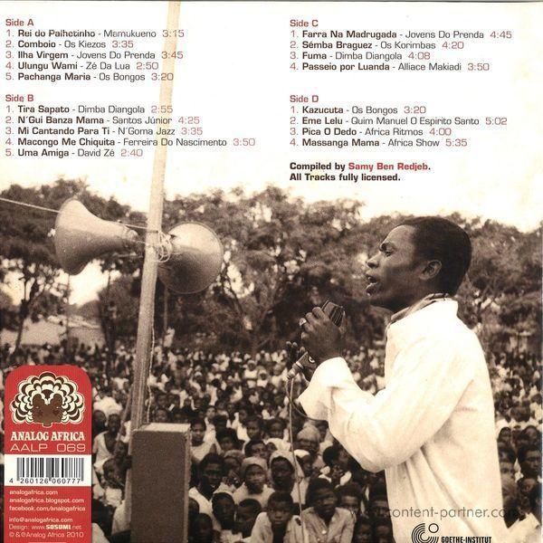 Various Artists - Angola Soundtrack (2LP) (Back)