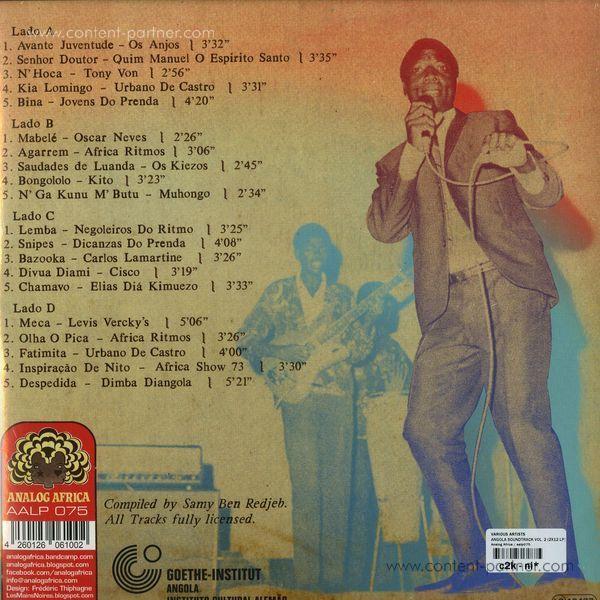 Various Artists - Angola Soundtrack Vol.2 (Back)