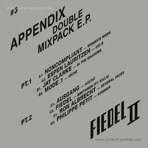 Various Artists - Appendix - Double Mixpack E.P.
