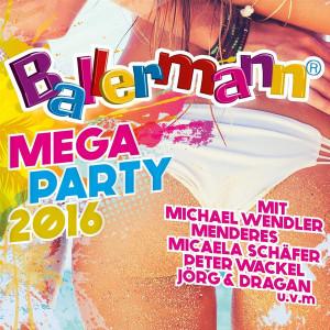 Various Artists - Ballermann Mega Party 2016 (Back)