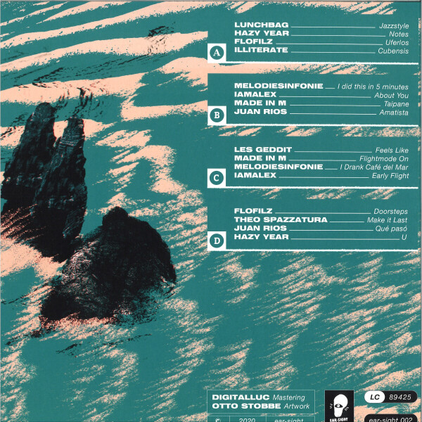 Various Artists - Beats on Boat Vol. 1 (Ltd. 2P) (Back)