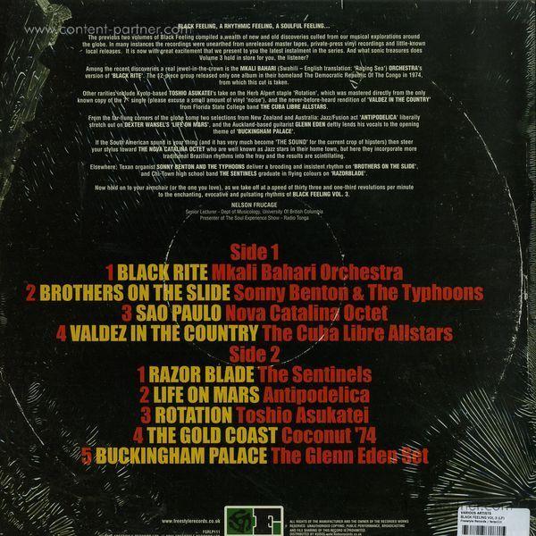 Various Artists - Black Feeling, Vol. 3 (Back)