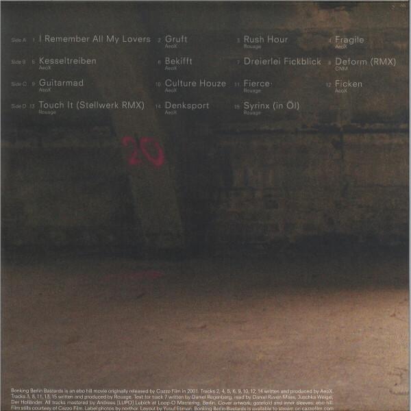Various Artists - Bonking Berlin Bastards (Back)