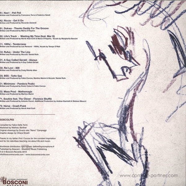 Various Artists - Bosconi Stallions Vol.2 (Back)