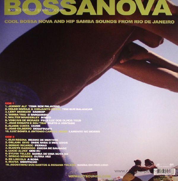 Various Artists - Bossanova (LP+MP3) (Back)