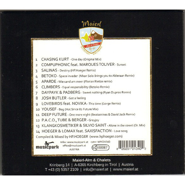 Various Artists - Chalet No. 1 (Maierl Alm) (Back)