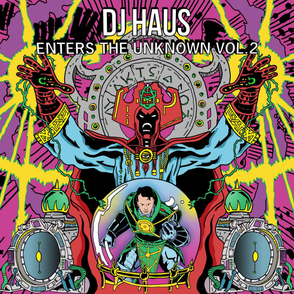 Various Artists - DJ Haus Enters The Unknown Vol.2 Vinyl Sampler