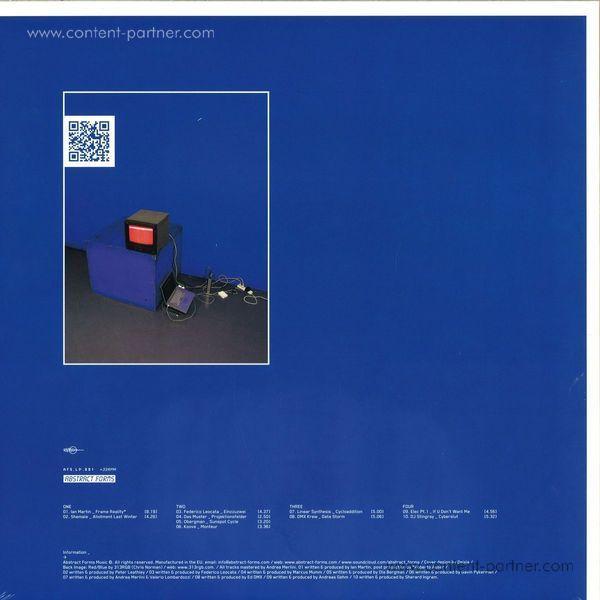 Various Artists - Datafunk V1.0 (Back)