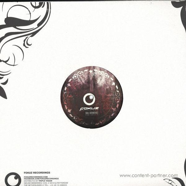 Various Artists - Derivatives: Album Sampler Pt.1 (Back)