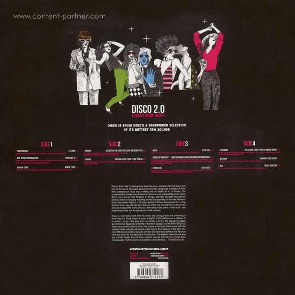 Various Artists - Disco 2.0 (2LP + MP3) (Back)