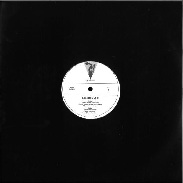 Various Artists - Exertion VA II (Back)
