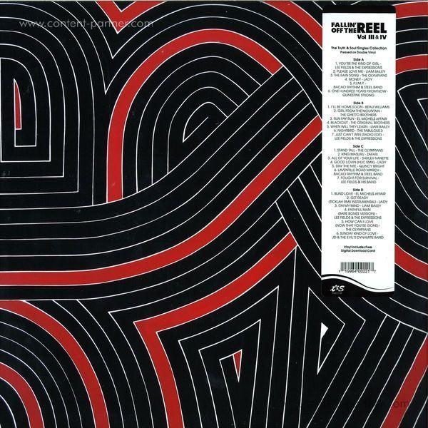 Various Artists - Fallin' Off The Reel Vol. III & IV (2LP)