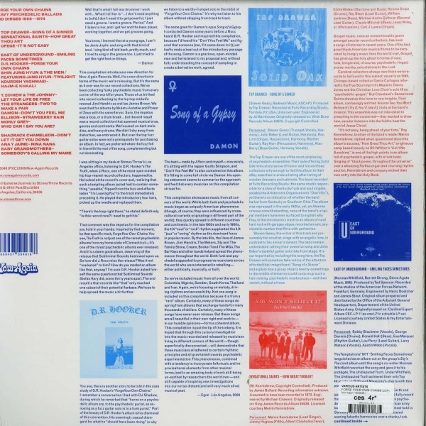 Various Artists - Forge Your Own Chain (2LP) (Back)