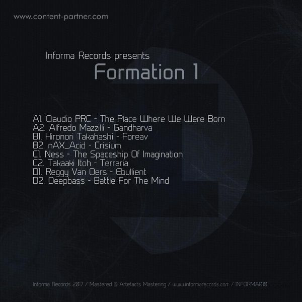 Various Artists - Formation 1 (Back)