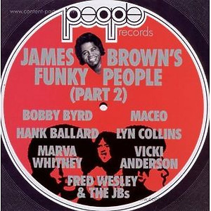 Various Artists - James Brown's Funky People (Part 2) (2LP)