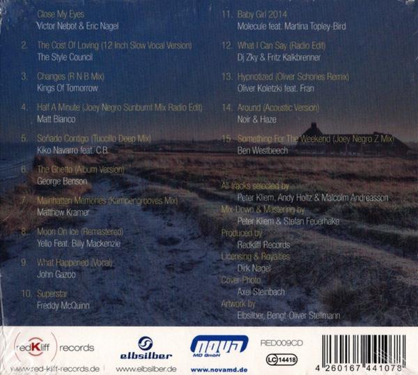 Various Artists - Kampengrooves 9-Loungin' At Redkliff (Back)