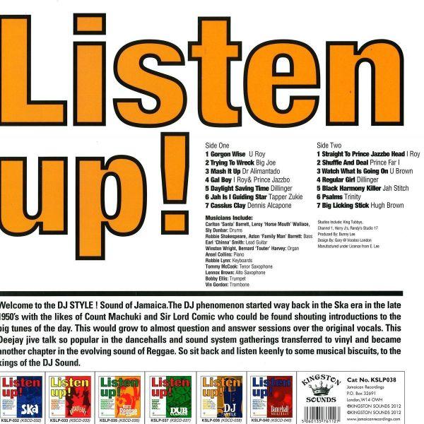 Various Artists - Listen Up! - Dj Style (Back)