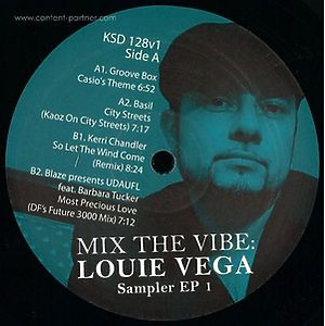 Various Artists - Louie Vega Mix The Vibe