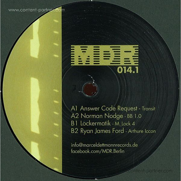 Various Artists - MDR 014.1 (Back in)