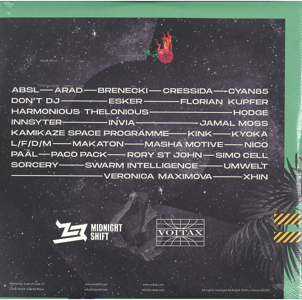 Various Artists - Mothership (Back)